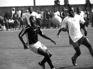 Second Division match, Cameroon, June 2006